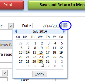 Hide Date Picker Calendar in Access Form - Debra D's Blog