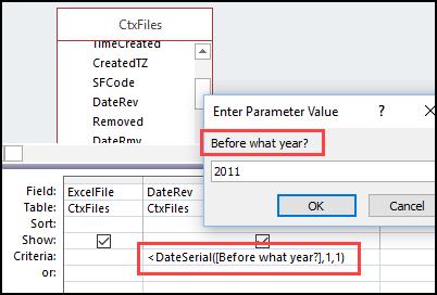 Access Query Date Criteria Examples - Debra D's Blog