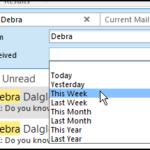 Better Microsoft Outlook Searches